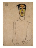 Singer van Osen Giclee Print by Egon Schiele