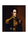 Simon Bolivar Attributed to Antonio Salas Giclee Print