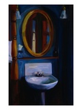 Sink in Blue Premium Giclee Print by Pam Ingalls