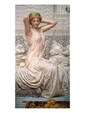 Silver Giclee Print by Albert Joseph Moore