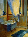 Sun in the New Bathroom Giclee Print by Pam Ingalls