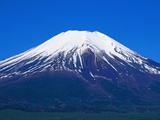 Snow Capped Mount Fuji Photographic Print