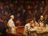 La clinique Agnew Reproduction procédé giclée par Thomas Eakins