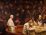 Die Klink des Dr. Agnew (Thomas Eakins) Giclée-Druck von Thomas Cowperthwait Eakins