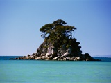 Small Island off Coast Photographic Print by Robert Landau