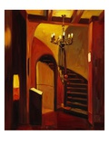 Stairs in Florence Giclee Print by Pam Ingalls