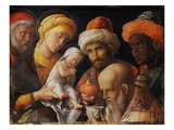 The Adoration of the Magi Giclee Print by Andrea Mantegna