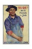 Sure! We'll Finish the Job Poster Giclee Print by Gerrit Albertus Beneker
