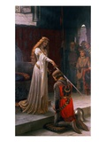 The Accolade Giclee Print by Edmund Blair Leighton