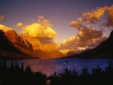 Sunrise over St. Mary Lake Photographic Print by Darrell Gulin