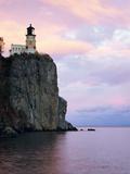 Leuchtturm von Split Rock am Lake Superior Fotografie-Druck von Joseph Sohm