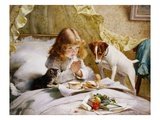 Suspense Giclee Print by Charles Burton Barber