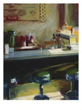 Soda Fountain Giclee Print by Pam Ingalls