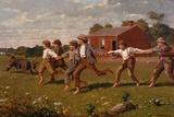 Schiocca la frusta Stampa giclée di Winslow Homer