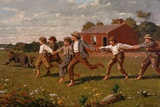 Snap the Whip Giclee Print by Winslow Homer
