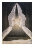 The Angels Hovering Over the Body of Jesus in the Sepulchre Giclee Print by William Blake