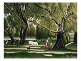Summer Giclee Print by Henri Rousseau
