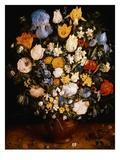 Kleine Blumenvase von Jan Brueghel d.Ä. Giclée-Druck von Jan Brueghel the Elder