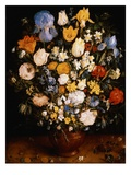 Small Vase of Flowers Giclee Print by Jan Brueghel the Elder