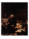 The Gross Clinic Premium Giclee Print by Thomas Cowperthwait Eakins