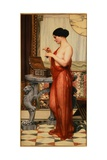 The New Perfume Giclee Print by John William Godward