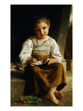 The Porridge Giclee Print by William Adolphe Bouguereau
