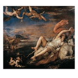 The Rape of Europa Giclee Print by  Titian (Tiziano Vecelli)