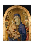 The Madonna and Child with Saints Giclee Print by  Sano di Pietro