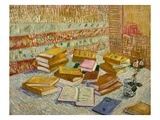 The Parisian Novels (The Yellow Books) Giclee Print by Vincent van Gogh