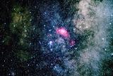 La laguna Nebula Lámina fotográfica por Ressmeyer, Roger