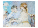 The Piano Giclee Print by Berthe Morisot
