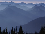 The Cascade Range in the Morning Photographic Print