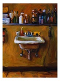 The Barber's Sink Giclee Print by Pam Ingalls