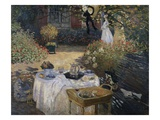 The Lunch Giclee Print by Claude Monet