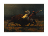 The Last of the Buffalo by Albert Bierstadt Giclee Print