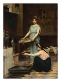 The Household Gods Giclee Print by John William Waterhouse