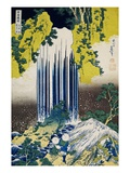 The Yoro Falls in Mino Province, from the Series A Journey to the Waterfalls of All the Provinces Giclee Print by Katsushika Hokusai