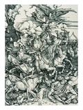 The Four Horsemen of the Apocalypse Giclee Print by Albrecht Durer