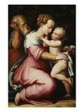 The Holy Family Giclee Print by Giorgio Vasari