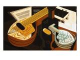 La mandolina Lámina giclée por Gris, Juan