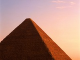 Top of Pyramid at Giza Photographic Print by Mark Karrass