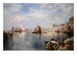 Venetian Grand Canal Giclee Print by Thomas Moran