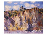 Varengeville Church, Morning Giclee Print by Claude Monet