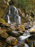 Waterfall Cascading over Rocks Photographic Print by Robert Glusic