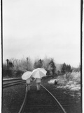 Umbrella Girls Photographic Print by Kim M. Koza