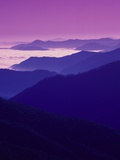 Twilight over Great Smoky Mountains Photographic Print by Cody Wood