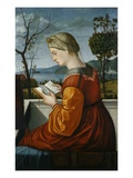 The Virgin Reading Giclee Print by Vittore Carpaccio
