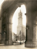Woolworth Building Through Arch Photographic Print