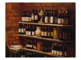 Wine and Bricks II Giclee Print by Pam Ingalls