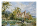 Witley Common, Surrey (Artist's House) Giclee Print by Myles Birket Foster